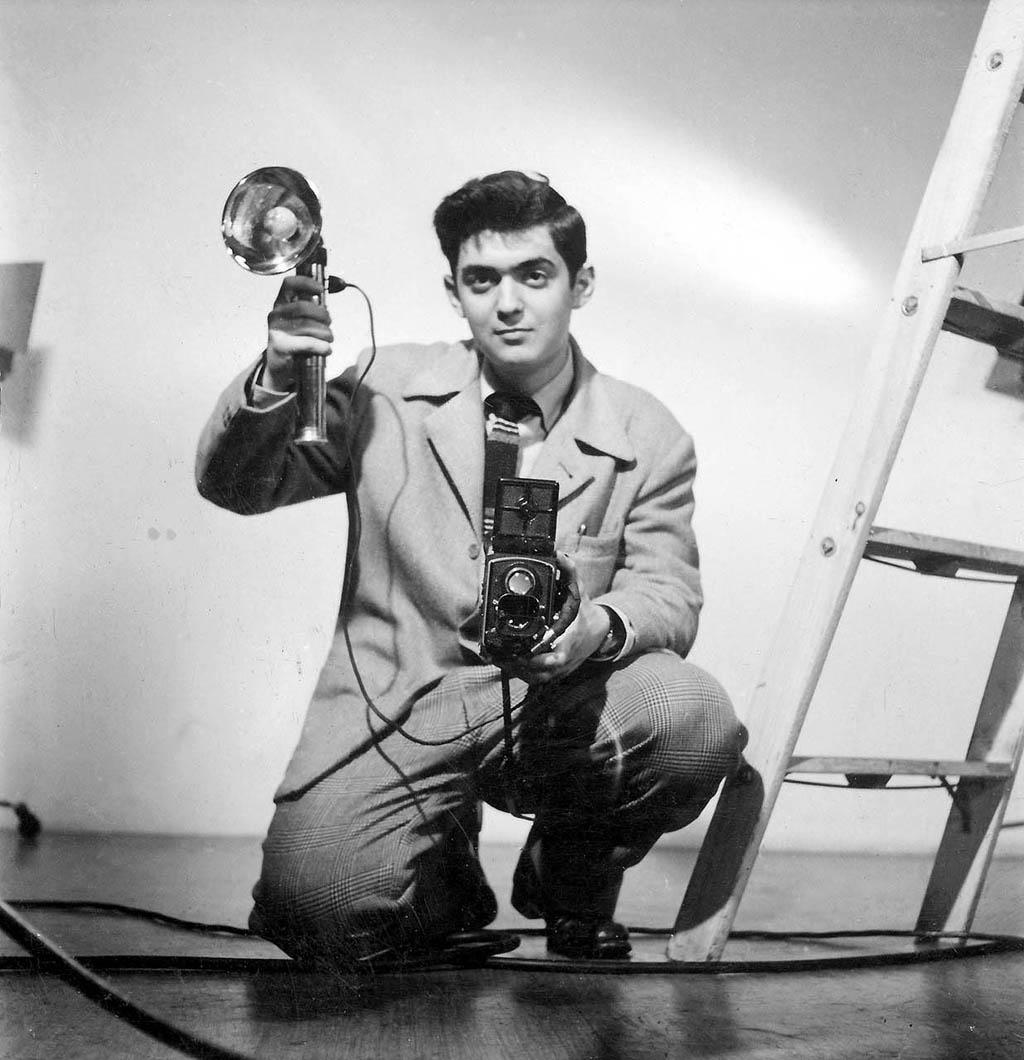 ο Στάνλεϋ Κιούμπρικ ως νεαρός φωτογράφος