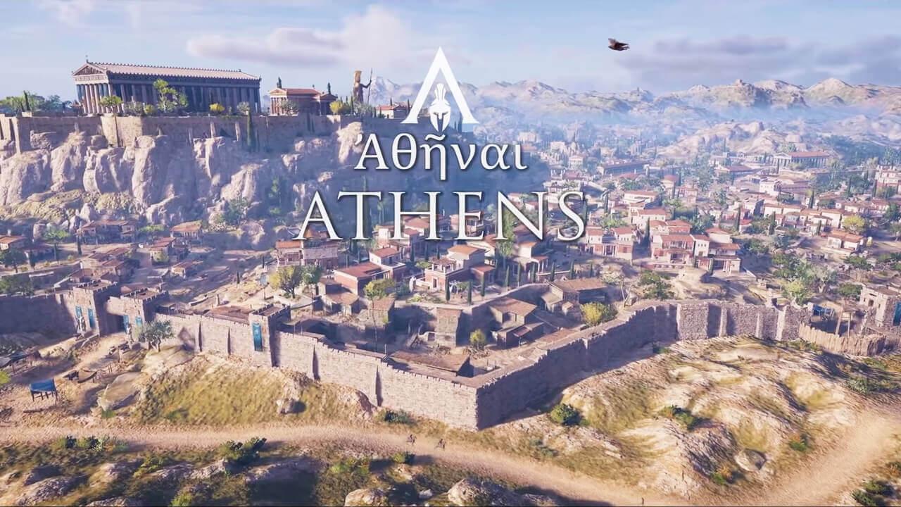 Αρχαία Αθήνα, ψηφιακή αναπαράσταση
