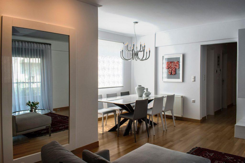 Διαμέρισμα στην Αθήνα, από την Ρένα Κοντράρου